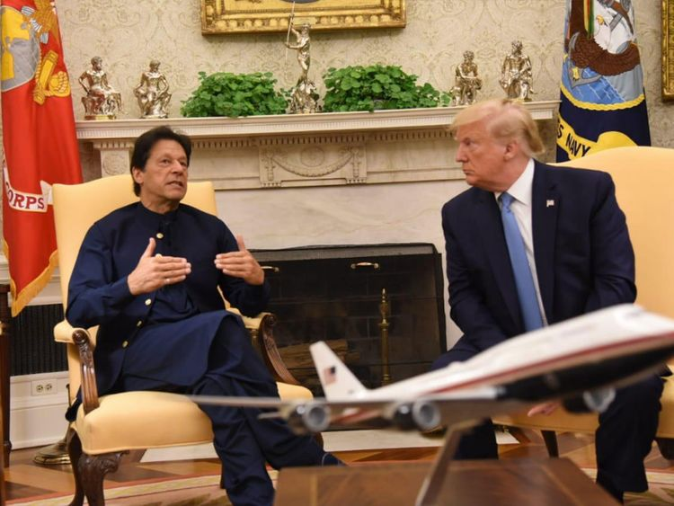 Pakistani Prime Minister Imran Khan speaks alongside 16c1ac948a4 large